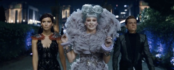 The Hunger Games Catching Fire Teaser Trailer Katniss Effie Peeta