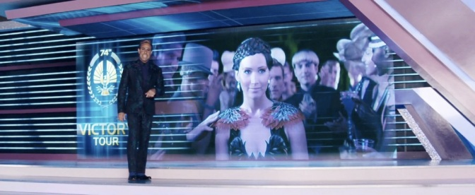 The Hunger Games Catching Fire Teaser Trailer Stanley Tucci