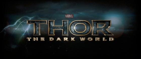 Thor The Dark World Movie Title Logo