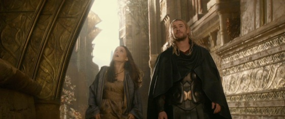 Thor The Dark World Teaser Trailer Thor and Jane Foster