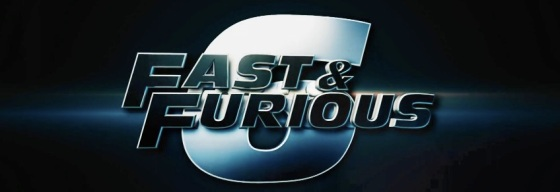 Fast and Furious 6 Movie Title Logo