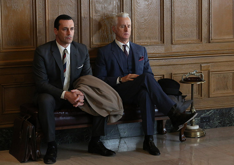 Mad Men Season 6 Episode 6 For Immediate Release Sneak Preview Don and Roger