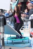 Megan Fox Teenage Mutant Ninja Turtle Set Photos 1