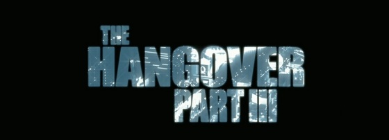 The Hangover Part 3 Movie Title Logo