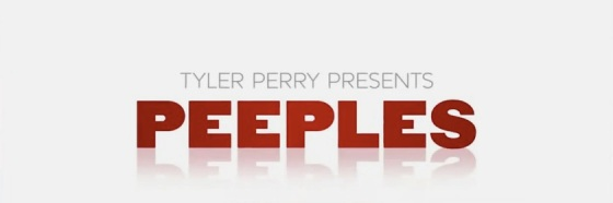 Tyler Perry Presents Peeples Movie Title Logo