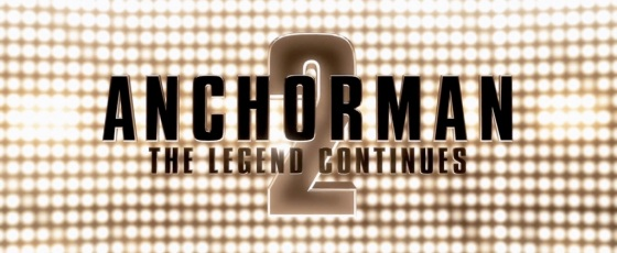 Anchorman 2 The Legend Continues Title Movie Logo
