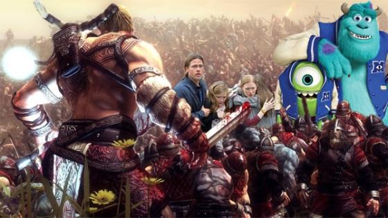 Box Office Battlefield Monsters University World War Z