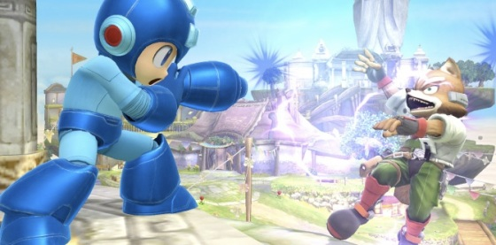 Mega Man and Wii Fit Trainer Nintendo Super Smash Bros.