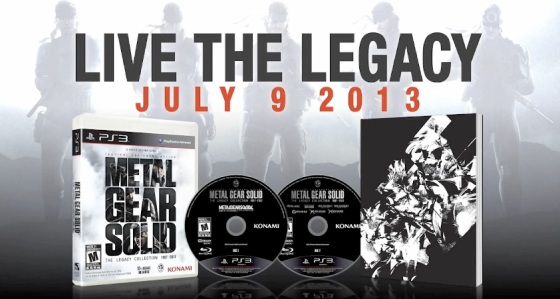 Metal Gear Solid The Legacy Collection PS3 Exclusive