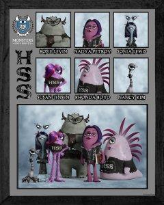 Pixar Monsters University Eta Hiss Hiss Sorority