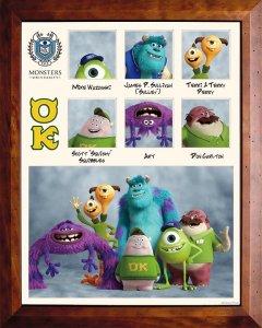 Pixar Monsters University Oozma Kappa Fraternity
