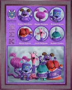 Pixar Monsters University Slugma Slugma Kappa Sorority