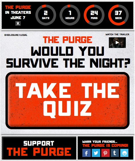 The Purge Blog App Giveaway