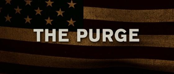 The Purge Title Movie Logo