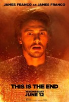 This Is The End 2013 Movie Character Poster James Franco