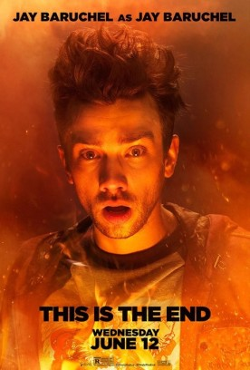 This Is The End 2013 Movie Character Poster Jay Baruchel