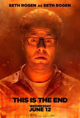 This Is The End 2013 Movie Character Poster Seth Rogen