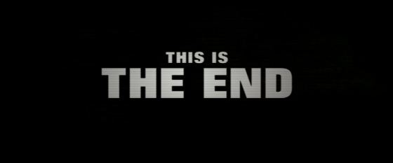 This Is The End Title Movie Logo 2013