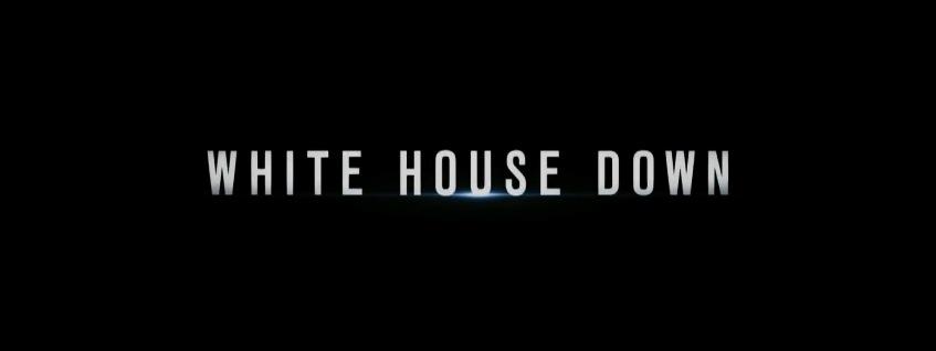 White House Down Title Movie Logo