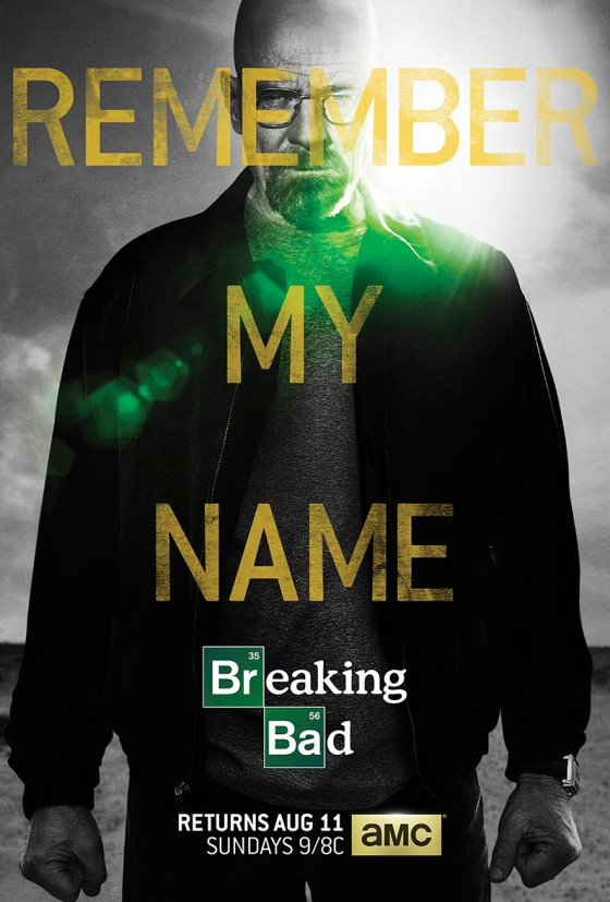 Breaking Bad Season 5 Part 2 Official Poster