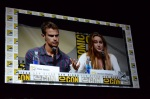 Comic-Con 2013 Divergent Panel Recap Theo James and Shailene Woodley