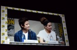 Comic-Con 2013 Enders Game Panel Asa Butterfield and Hailee Steinfeld