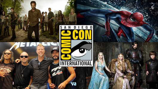 Comic-Con 2013 Friday Panel Schedule