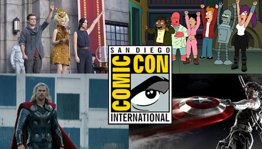 Comic-Con 2013 Saturday Panel Schedule