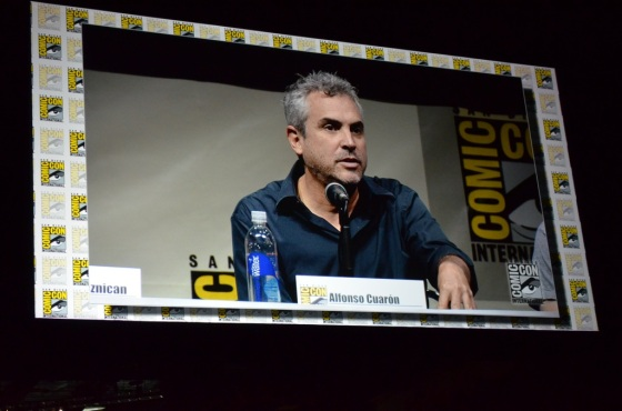 Comic-Con 2013 The Visionaries Panel Alfonso Cuaron