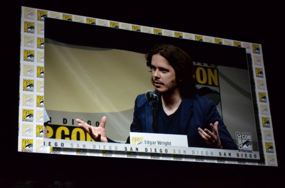 Comic-Con 2013 The Visionaries Panel Edgar Wright