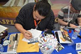 San Diego Comic Con 2013 Artist