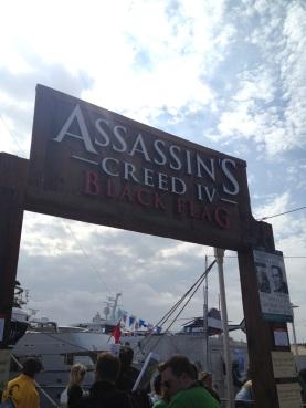 San Diego Comic-Con 2013 Assassin's Creed 4 Black Flag