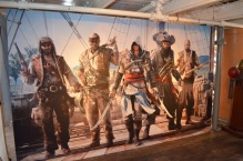 San Diego Comic-Con 2013 Assassin's Creed 4 Pirate Mural