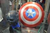 San Diego Comic Con 2013 Captain America Props
