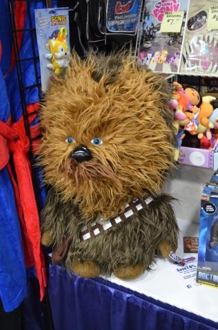 San Diego Comic Con 2013 Chewbacca Plushy
