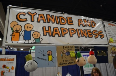 San Diego Comic Con 2013 Cyanide and Happiness