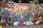 San Diego Comic Con 2013 DC Comics Mural
