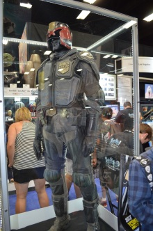 San Diego Comic Con 2013 Dredd Movie Uniform