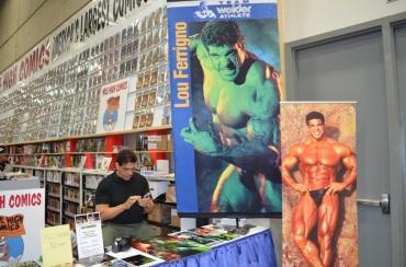 San Diego Comic Con 2013 Lou Ferrigno