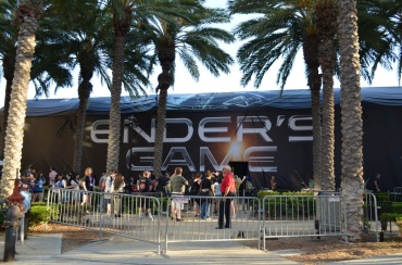 San Diego Comic Con 2013 Preview Night Enders Game Experience