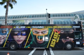 San Diego Comic Con 2013 Preview Night Kick-Ass 2 Bus