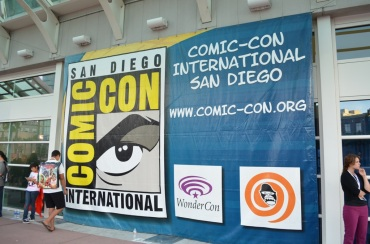 San Diego Comic Con 2013 Sign