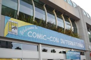 San Diego Comic Con 2013 Welcome Banner