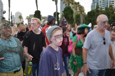 San Diego Comic Con 2013 Zombie Walk 11