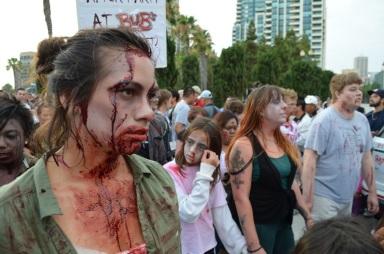 San Diego Comic Con 2013 Zombie Walk 24