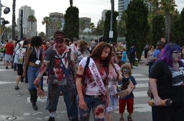San Diego Comic Con 2013 Zombie Walk 9