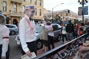 San Diego Comic Con 2013 Zombie Walk Barbershop