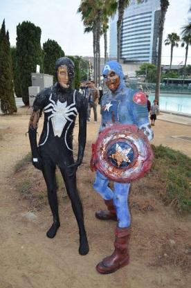 San Diego Comic Con 2013 Zombie Walk Captain America