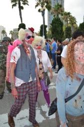 San Diego Comic Con 2013 Zombie Walk Clown