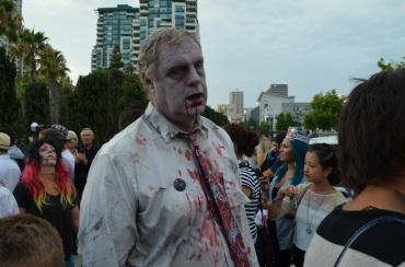 San Diego Comic Con 2013 Zombie Walk Dad